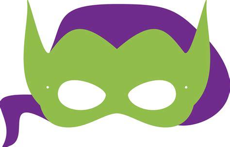 printable goblin mask printable halloween masks