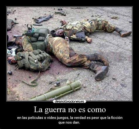 imagenes animadas de amor de soldados la guerra no es como desmotivaciones