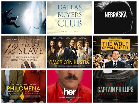 oscar film list 2014 oscar nominations 2014 86th academy awards