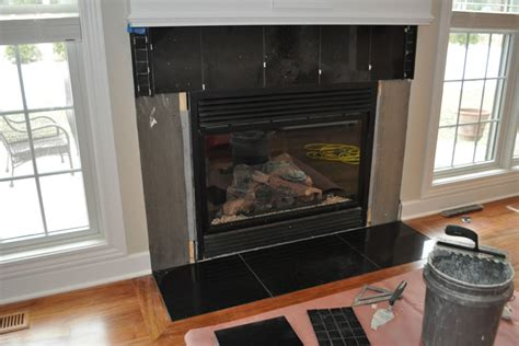 fireplace marble tile installation prosand flooring