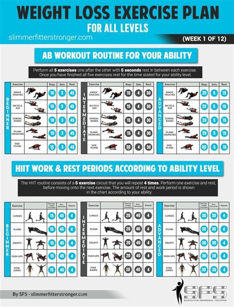7 day workout plan at home weight loss fitness on the app store