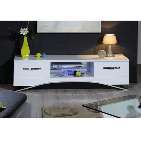 Sideboard Tv Unit Sciae Smooth Modern Tv Unit Stand With Drawers White