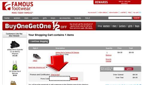 ls online promo code famous footwear promo code coupon code