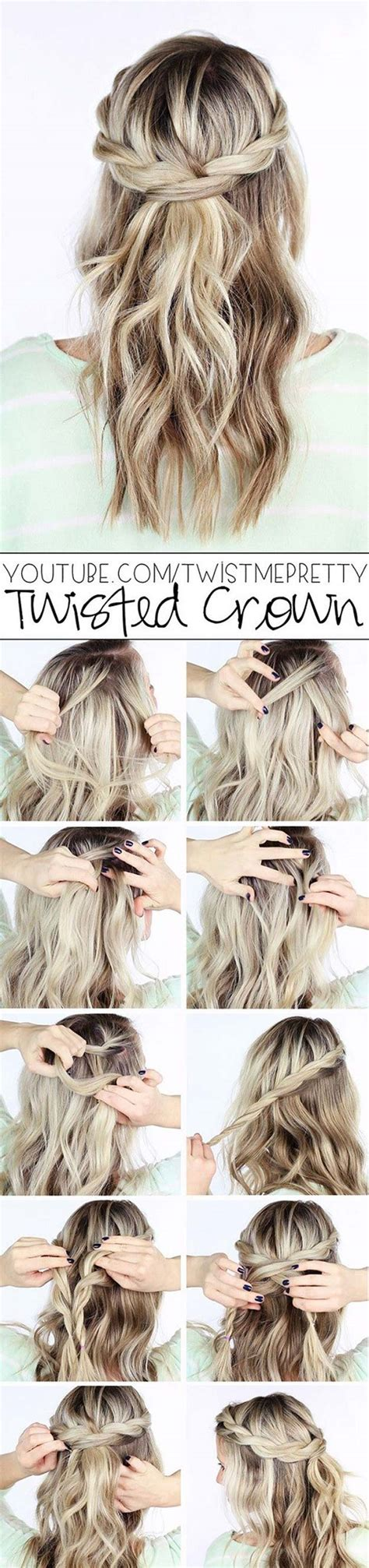 cool braided hairstyles step by step 40 of the best cute hair braiding tutorials