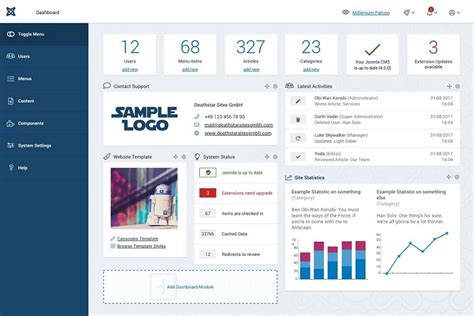 joomla backend templates joomla 4 new back end preview outstanding improvements