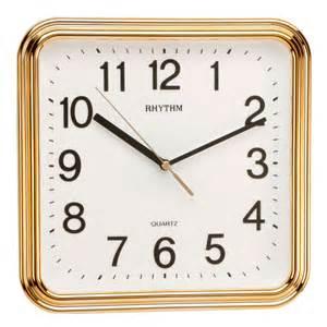 bedroom clock traditional rhythm wall clock luminous no ticking gold