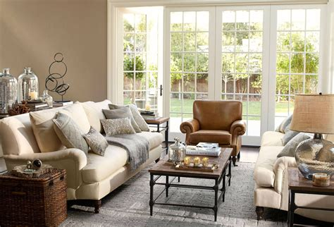 pottery barn style living room pottery barn living room for the home pinterest