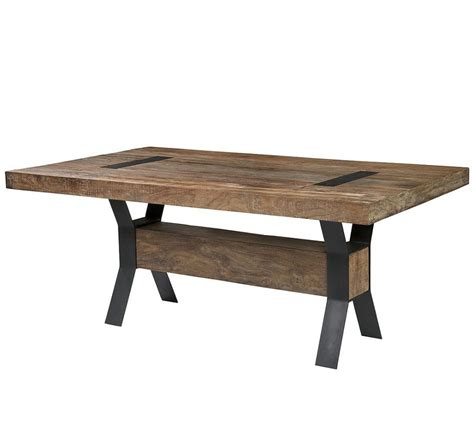 Furniture Best Design Ideas Of Reclaimed Wood Dining Metal And Wood Dining Table