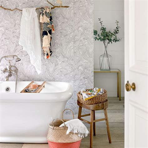 Bathroom wallpaper ideas that will elevate your space to
