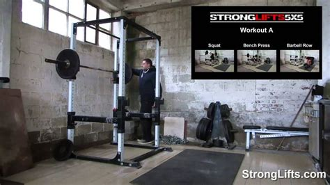 stronglifts 5x5 workout b official via