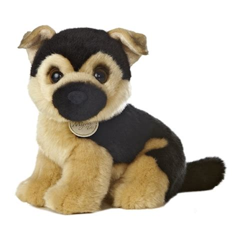 puppy plush realistic stuffed german shepherd puppy 10 inch plush by