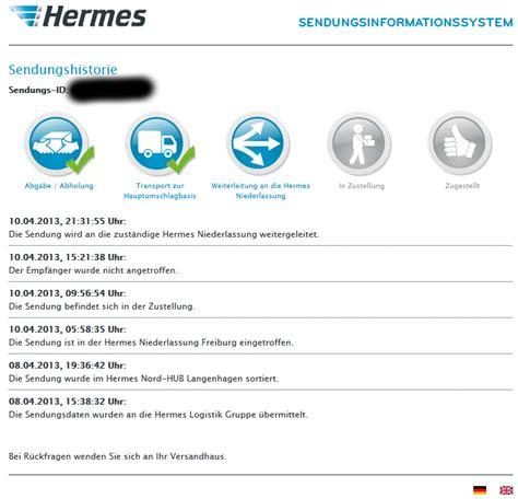 hermes paket nicht zuhause hermes paket 3 mal nicht angetroffen tracking support