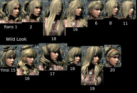 hairdos mod for skyrim mtoh and yinsiyue hairstyles retexture at skyrim nexus