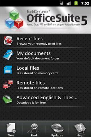 officesuite pro 7 paid apk officesuite pro 5 documentstogo version android