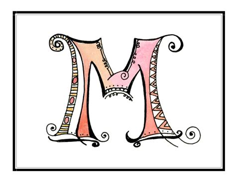 letter monogram template top monogram letter m fancy wallpapers