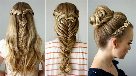 hairstyles that whisps in back and in the front 3 back to school hairstyles missy sue youtube