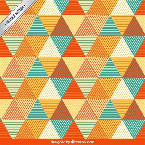 pattern triangle download pattern with triangles vector free download