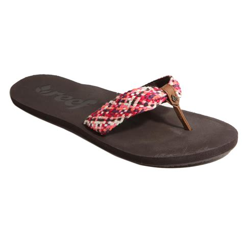 reef slippers womens reef crochet sandals for multi outdoor