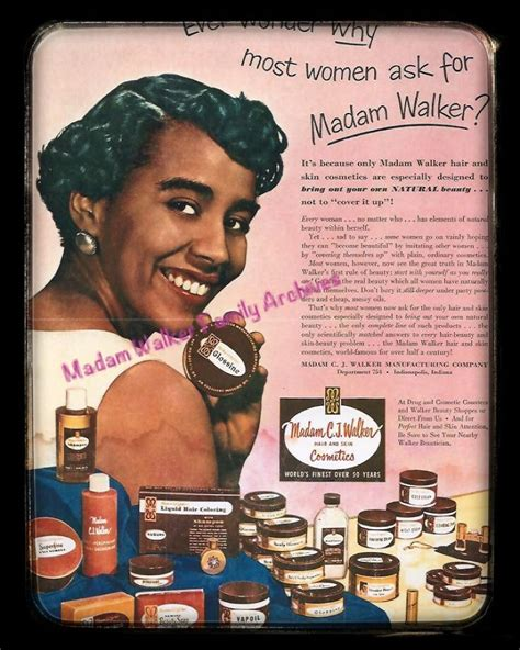 Madam C J Walker madam cj walker i admire black