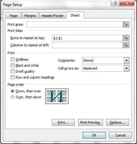 page layout excel greyed out excel 2013 rows to repeat at top grayed out repeat a