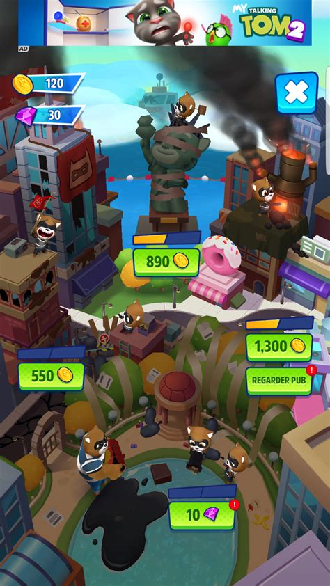 talking tom hero dash android  test