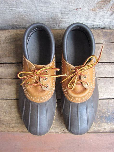 how to lace up bean boots vintage c 1980s ll bean lace up quot bean boots quot unisex
