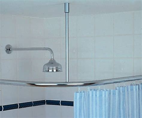 suspended curtain rail room divider cubicle shower rail system silent gliss