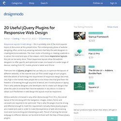 responsive web design tutorial jquery jquerry pearltrees