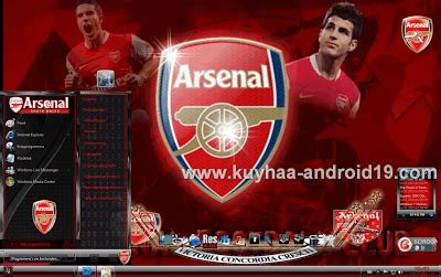 Setelan Arsenal Black 1 arsenal black theme windows 7 pengertian komputer