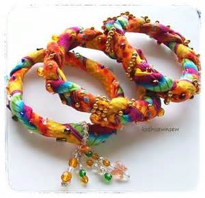 colorful bracelets bangle bracelets set of 3 twisted colorful soft cotton
