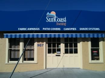 suncoast awning suncoast awning retractable and fixed awnings canopies