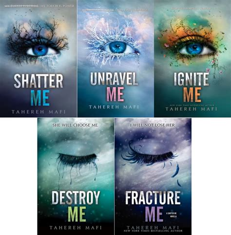 on me books books series recap shatter me trilogy by