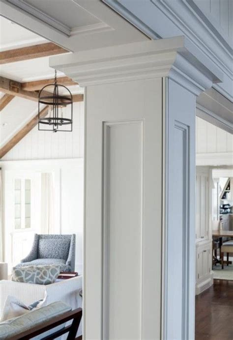 interior columns as interior columns custom trim column moulding patrick ahearn pinteres
