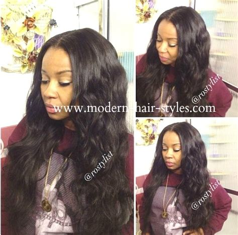 Hairstyles For Weaves Sew In by Hairstyles For Weaves Sew In Hairstyle For