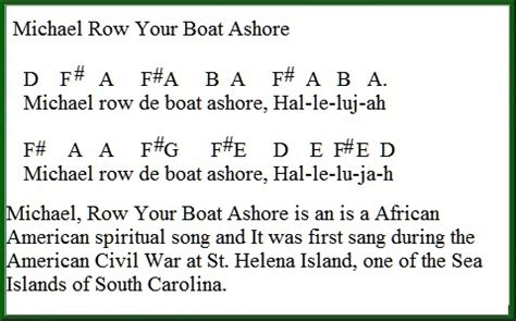 is michael row the boat ashore a christian song michael row your boat ashore easy tin whistle version cc