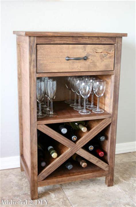 build wine rack cabinet diy wine cabinet with printable plans addicted 2 diy