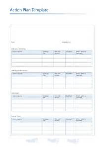 45 Free Action Plan Templates (Corrective, Emergency