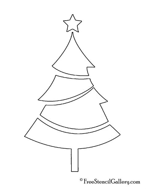 christmas tree stencil printable search results