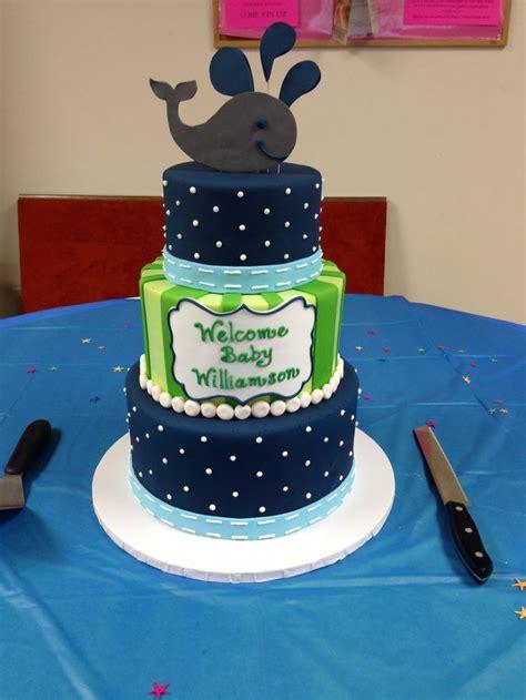 whale baby shower cakes whale baby shower cake by heidi miller heidi miller s