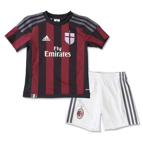 Jersey Ac Milan Home 1516 ac milan 15 16 home mini jersey ac milan 681057 163 17 00 all leaked and official 17 18 shirts
