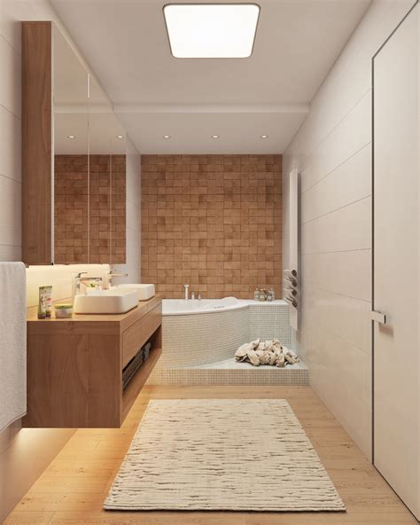 Luxury Bathroom Designs With Colorful Backsplash