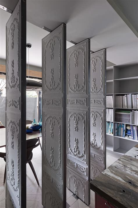 room wall dividers embossed room dividers interior design ideas