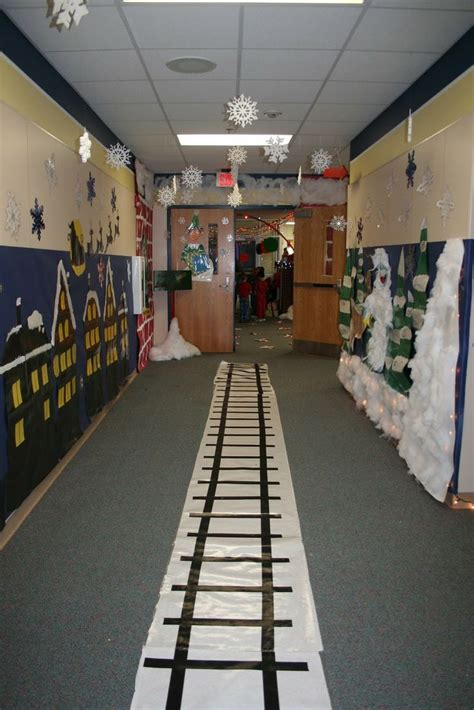 office decorated in the polar express 20 best polar express images on polar express crafts and office