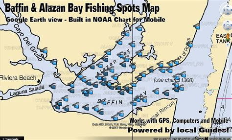 baffin bay texas map baffin bay fishing map
