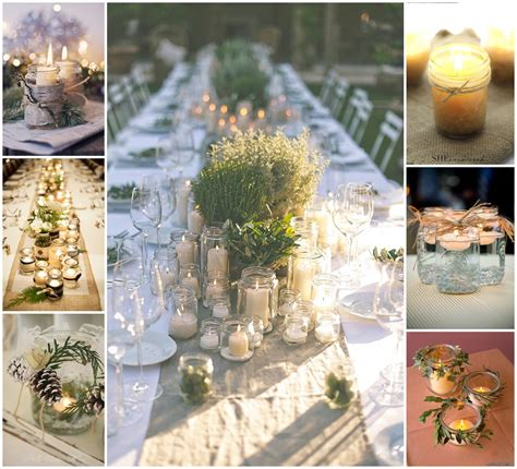 wedding centerpieces with jars and candles 3 wedding centerpiece ideas you can make yourself wedding inspiration
