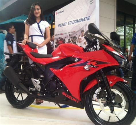 Alarm Motor Di Bekasi suzuki targetkan jual 2 000 motor gsx r150 gsx s150 di