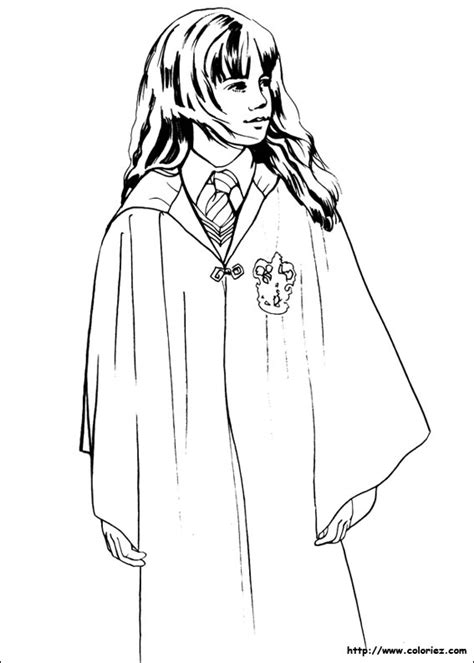 Hermione Coloring Pages free coloring pages of harry e hermione