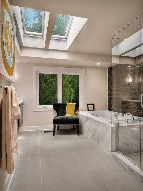 Skylights For Bathrooms Luxury Bathrooms With Stunning Skylights