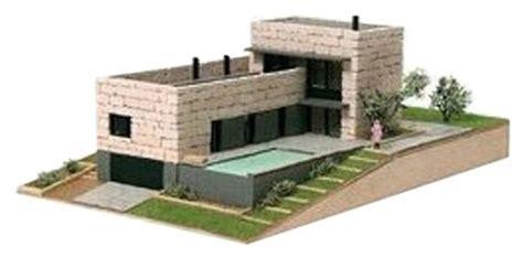Maison Moderne Carré by Maqueta Kit De Piedra Domus 40601 Casita Vilomara