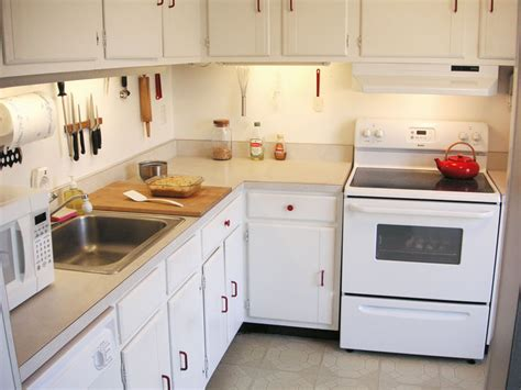 All White Kitchen With White Appliances by Going Time Getting To Work